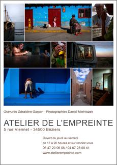 affiche atelier de l empreinte 2012