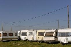 Caravanes. Portiragnes. ©Daniel Mielniczek