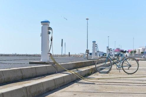 Bicyclette. Port de Valras-Plage. ©Daniel Mielniczek