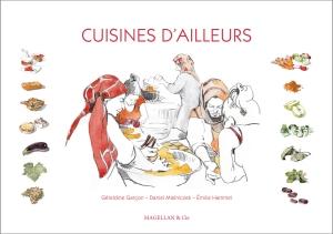 Couverture du livre Cuisines d'Ailleurs.